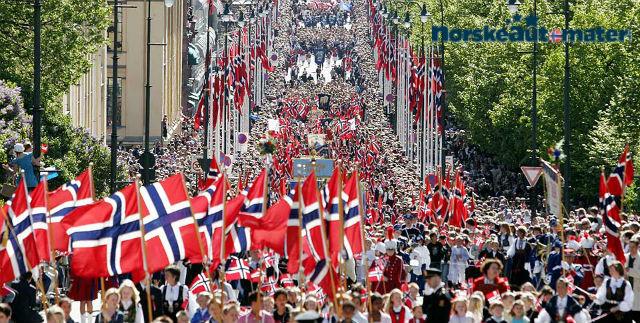17 mai tog Norskeautomater