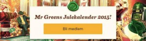 Mr Green julekalender front