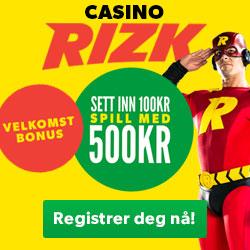Online Casino Kampanjer – Beste Casino Tilbud - Rizk.com